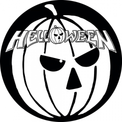 Slipmat-helloween-pumpkin